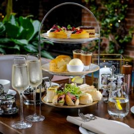 Mother's Day Sparkling Afternoon Tea at Grosvenor Pulford Hotel & Spa