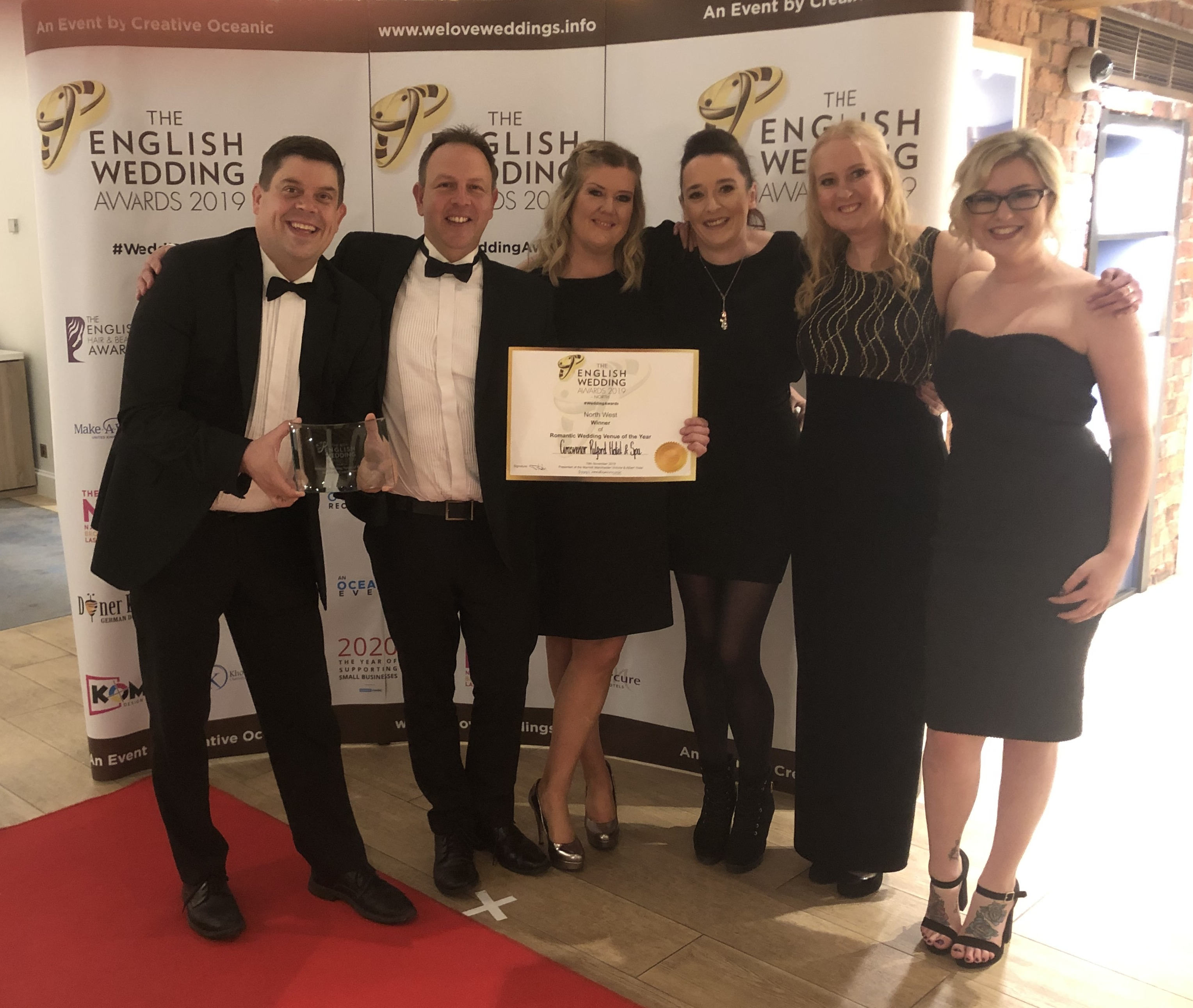 The English Wedding Award Winners 2019