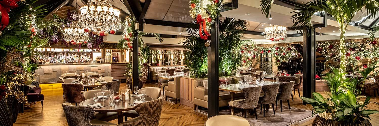 Palm Court Christmas Dining