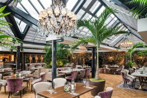 Palm Court Restaurant Cheshire