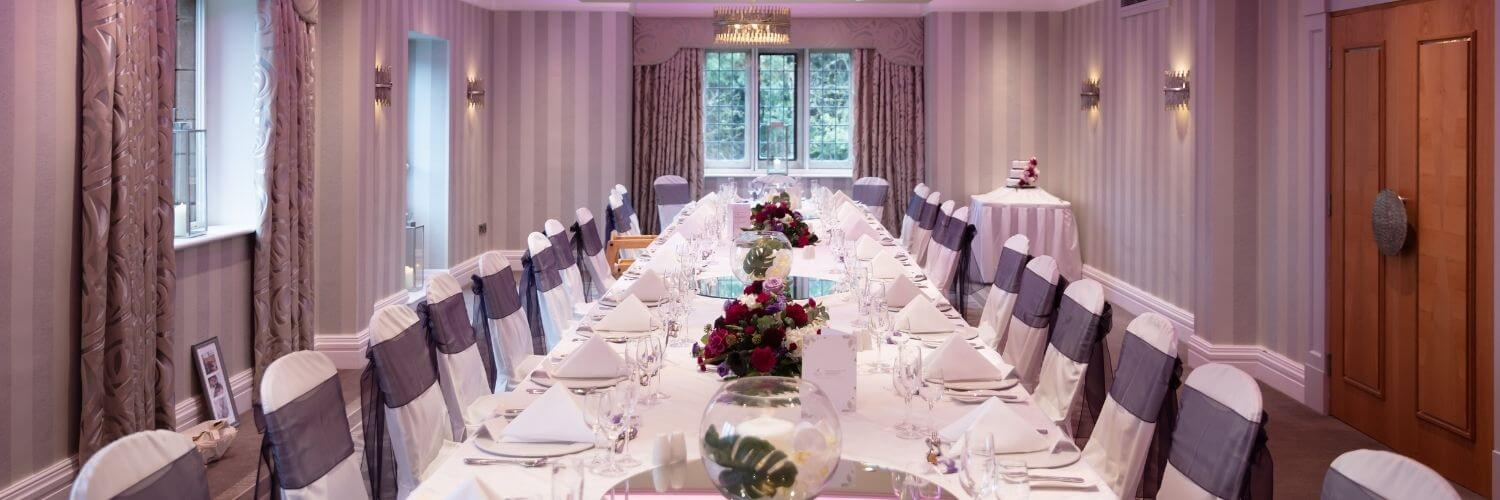 Private Dining in Chester at Grosvenor Pulford Hotel & Spa