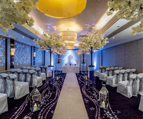 Winter Wedding All-Inclusive Package at Grosvenor Pulford Hotel