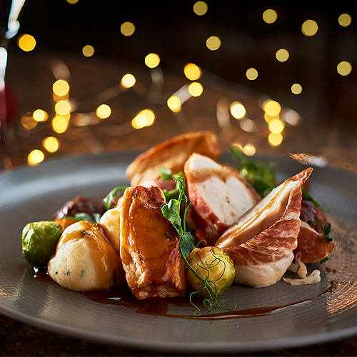 Christmas Day Turkey Dinner at the Grosvenor Pulford Hotel and Spa