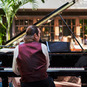 Afternoon Tea Week Live Music at Palm Court