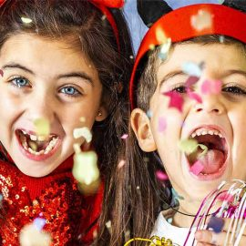 New Year's Even Family Party near Chester at Grosvenor Pulford Hotel