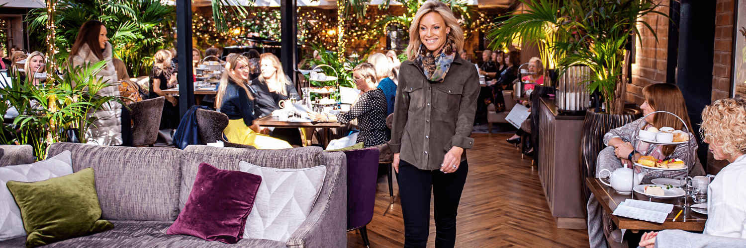 Ladies Afternoon Tea and Fashion Show at Grosvenor Pulford Hotel & Spa